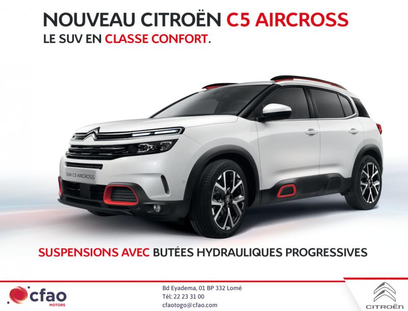 Nouvelle Citroën C5 AIRCROSS