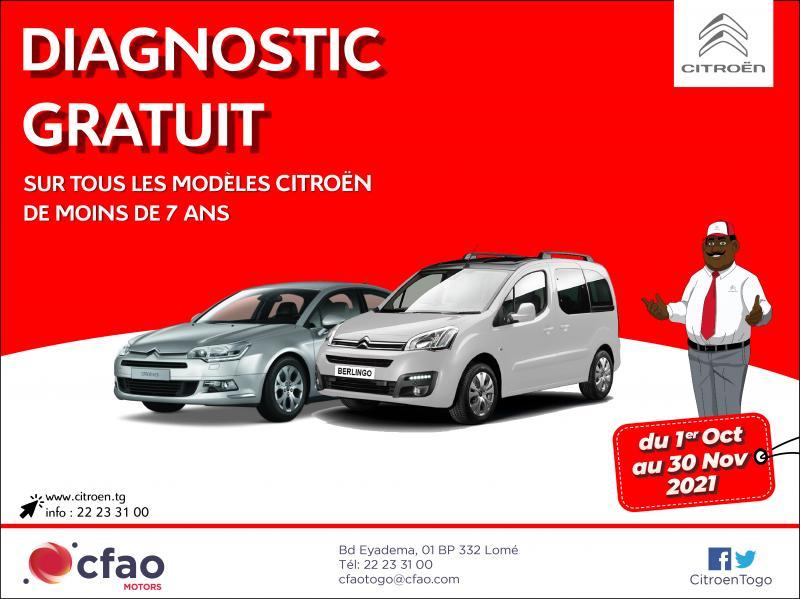 Diagnostic gratuit Citroën